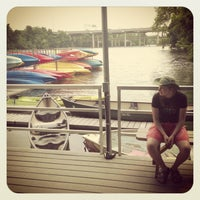 Photo taken at Rowing Dock by Alexander S. on 5/19/2013
