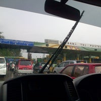 Photo taken at Gerbang Tol Pasteur by Aprilia A. on 5/26/2013