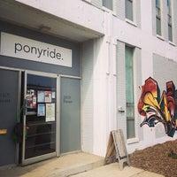 Photo taken at Ponyride by Sahithi A. on 9/18/2014