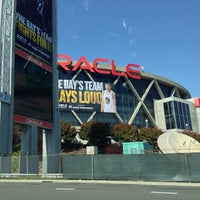 Photo taken at Oracle Arena by Rex W. on 4/26/2013