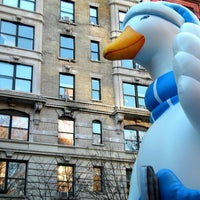 Photo taken at Macy's Parade Balloon Inflation by Sookie T. on 11/26/2015