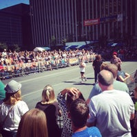 Photo taken at U.S. Bank Ice Rink on Fountain Square by Robert B. on 9/19/2014