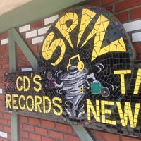 Photo taken at Spin Records by Kristen W. on 8/30/2014