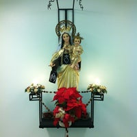 Photo taken at Mt. Carmel Monestary by Andrew N. on 2/3/2013