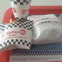 Photo taken at Sixties Burger by Paco K. on 5/6/2013