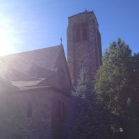 Photo taken at Holy Cross Church by Chris C. on 10/13/2012