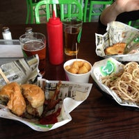 Photo taken at Wahlburgers by Jim D. on 10/30/2012