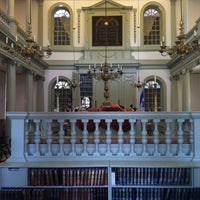 Photo taken at Touro Synagogue by Ebbie A. on 8/7/2013
