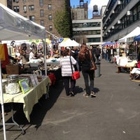 Photo taken at Columbus Ave Flea Market by John T. on 4/14/2013
