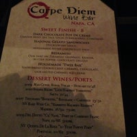 Photo taken at Carpe Diem Wine Bar by John N. on 7/4/2013