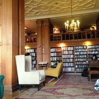 Photo taken at Morrison Library by Lazar S. on 3/20/2013