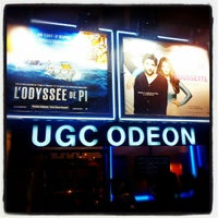 Photo taken at UGC Odéon by Zied L. on 1/3/2013