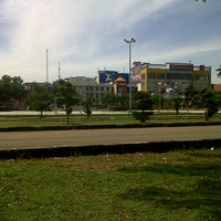 Photo taken at Alun-Alun Kota Serang by Melinda K. on 5/29/2014