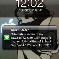 Photo taken at SONIC Drive In by Jesse J. on 5/23/2013