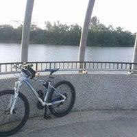 Photo taken at Jewel Bridge by Carlo C. on 3/15/2014
