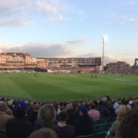 Photo taken at The Kia Oval by Nathan A. on 6/25/2013
