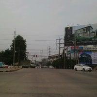Photo taken at San Dek Intersection by Wachirakorn R. on 10/12/2012