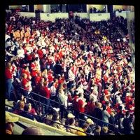 Photo taken at Agganis Arena by Sofiya M. on 11/12/2012