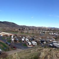 Photo taken at Dakota Ridge RV Park by Adam M. on 4/22/2014