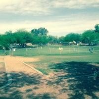 Photo taken at Shawnee Bark Park by Danielle D. on 4/2/2015