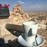 Photo taken at Argos In Cappadocia by Münevver on 10/8/2016