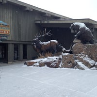 Photo taken at Jackson Visitor Center by Julie H. on 1/27/2014