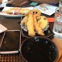 Photo taken at Hot Woks Cool Sushi by Sharon O. on 9/29/2012