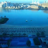 Photo taken at Fairmont Bab Al Bahr Hotel Abu Dhabi by Evert S. on 2/26/2013