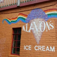 Photo taken at Klavon's Ice Cream Parlor by Diana L. on 7/21/2013