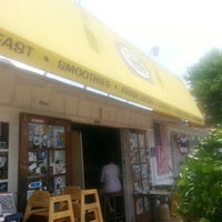 Photo taken at Swamis Cafe by Lois B. on 7/9/2013