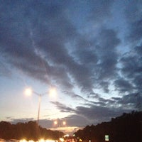 Photo taken at I-90 Weston Toll Plaza from / to I-95 (Exit 14) by Jessica S. on 8/10/2013
