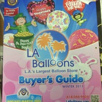 Photo taken at LA Balloons by Gail F. on 12/11/2012