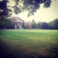 Photo taken at Syracuse University Quad by David R. on 9/17/2012