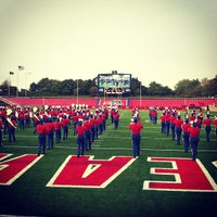 Photo taken at Kenneth P. LaValle Stadium by Scott M. on 10/6/2012