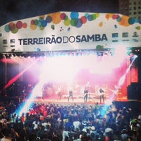 Photo taken at Terreirão do Samba by Fernanda L. on 3/1/2014