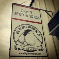 Photo taken at Big Beaver Brewing Co by Chad K. on 7/13/2013