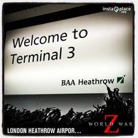 Photo taken at Terminal 3 by Yusuf M. on 7/2/2013