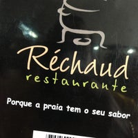 Photo taken at Réchaud Restaurante by Maicon A. on 2/17/2013