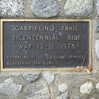 Photo taken at Gabrielino Trail Head by Joseph B. on 5/21/2016