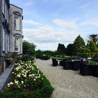 Photo taken at Castle Durrow by David S. on 8/27/2014