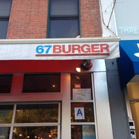 Photo taken at 67 Burger by Vladie F. on 5/5/2013