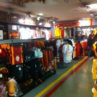 Photo taken at Galatasaray Store by Eren S. on 3/5/2014