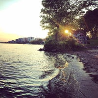 Photo taken at B.B. Clarke Beach by Mike H. on 9/26/2014