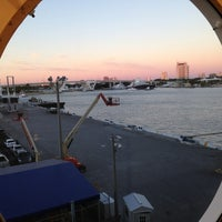 Photo taken at Port Everglades Terminal 25 by Darren Y. on 12/21/2012