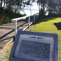 Photo taken at The Jetty At Long Jetty by deepwhite on 4/14/2013
