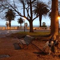 Photo taken at Plaza Gomensoro by Emilio M. on 10/29/2012