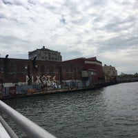 Photo taken at East River Ferry - Schaefer Landing/S. Williamsburg Terminal by Kimberly T. on 4/23/2016