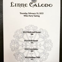 Photo taken at Linne Calodo Cellars by Kristy W. on 2/19/2015