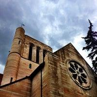 Photo taken at Shove Chapel by Liz J. on 7/25/2013