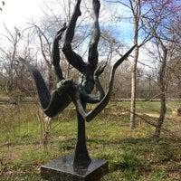 Photo taken at Umlauf Sculpture Garden by Eric H. on 3/6/2013